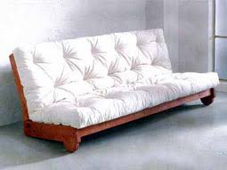 futon canapé futon canapé lit sommier futon 160x200 literie