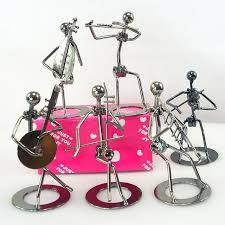 iron artist metal crafts band style home decor small iron home