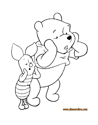 winnie pooh u0026 friends coloring pages 2 disney coloring book