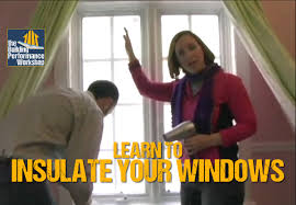 how to weatherize windows with plastic film insulation diy home