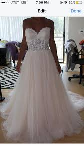 terry costa wedding dresses bridals one of a for terry costa wedding dress tradesy