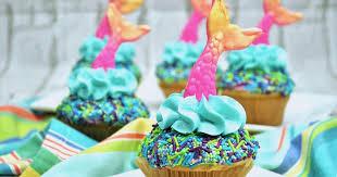 mermaid cupcakes easy mermaid cupcakes the soccer