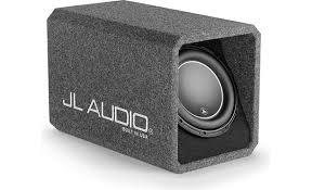 jl audi jl audio ho110 w6v3 ported h o wedge enclosure with one 10 w6v3