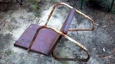Fixing Patio Chairs How To Restore Vintage Metal Lawn Porch Chairs Waste As A Way Of