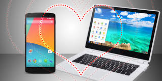 phone android an android device chromebooks are the companion
