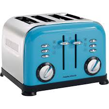 Morphy Richards Accents Toaster Review Morphy Richards Cyan Blue Accent Toaster Home Appliances Small