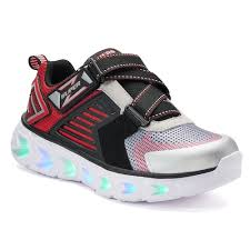 skechers light up shoes on off switch s lights hypno flash 2 0 boys light up shoes