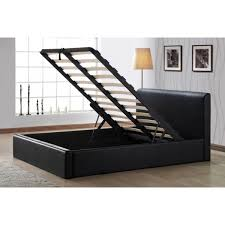 cheap faux leather ottoman cheap birlea ottoman storage black faux leather bed frame for sale