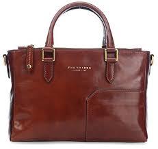mini bureau the bridge leather handbag mini bureau 30 cm brown size one size