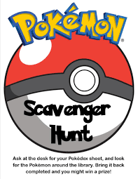 pokemon scavenger hunt in the library u2013 ontarian librarian