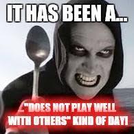 Murder Meme - horiible murder with a spoon meme generator imgflip