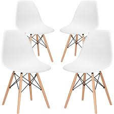 eames style molded plastic dining chair inexpensive u0026 modern