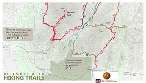 Phx Map Phoenix Mountain Preserve Map Karmaboxers