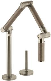 kohler brushed nickel kitchen faucet bathroom contemporary kohler faucets for kitchen or bathroom