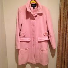 light pink wool coat victoria s secret outerwear victorias secret light pink wool coat