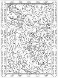38 creative haven peacock designs coloring book images