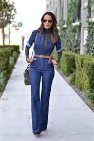 denim jumpsuits how to style your denim jumpsuit glam radar