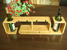 bamboo wine rack from china home and garden