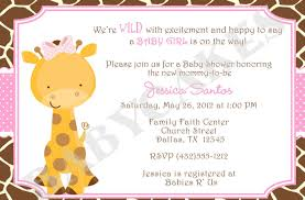 giraffe baby shower ideas baby shower invitations giraffe baby shower invitations baby
