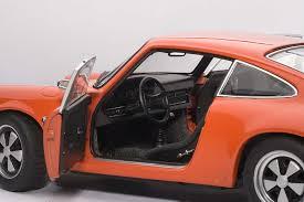porsche orange highly detailed autoart porsche 911 carrera rs 2 7 1973 orange