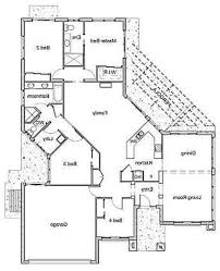 Open House Plans One Floor Kitchen One Floor Contemporary Room House Plans Home Decor Waplag
