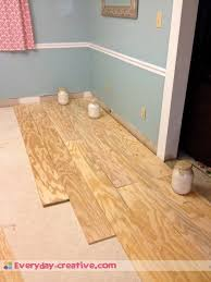 plywood plank flooring an inexpensive replacement for wood