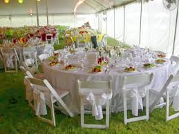 Outdoor Wedding Furniture Rental by White Garden Chairs Wedding Decorating Clear
