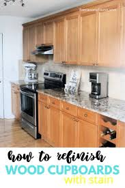 how to wood cabinets how to refinish wood cabinets