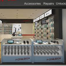 modern design display counter table for mobile shop u shop