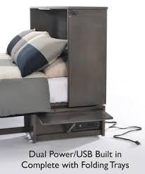 night u0026 day furniture sagebrush murphy cabinet bed