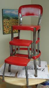 Library Step Stool Chair Combo Cosco Step Ladder Chair Restoration Visual Engineering