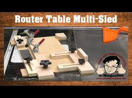 how to build a router table youtube build a router table multi sled coping small parts holder tenons