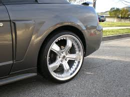 2004 Ford Mustang Black 1999 2004 New Edge Ford Mustang Tire And Wheels Picture Thread
