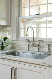 what size subway tile for kitchen backsplash crackle subway tile backsplash design ideas