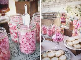 Pink Wedding Candy Buffet by Blush Rustic U0026 Vintage Wedding Candy Table Wedding And Weddings