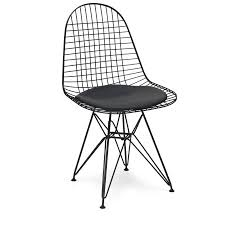 chair metal eames style dkr wire mesh office chair by ciel notonthehighstreet com