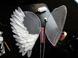 angel wings project a wing home diy on cut out keep