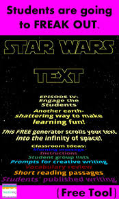 read write think resume 40 best classroom behavior management images on pinterest star wars crawl for the classroom