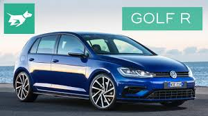 2018 volkswagen golf r review mk 7 5 youtube