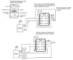 circuit diagram of home theater i am using a tda2822m circuit to amplify music the output of this