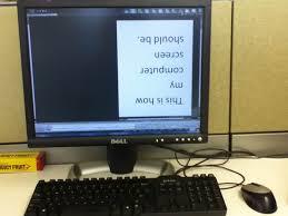 bureau windows à l envers comment piéger et embêter vos collègues ou vos amis avec des