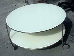 ikea small round side table coffee table round coffee table ikea collectibles sold white on
