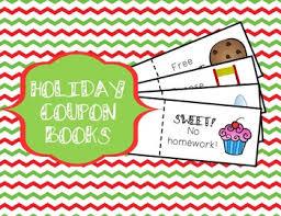 christmas coupon book fun and cheap christmas gift for students