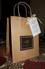 wedding gift bags for hotel wedding welcome bags out of town guest bag he put a ring on it
