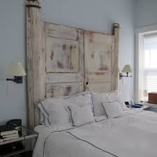homemade headboards homemade headboard from an old door medium image of creative rustic headboard ideas