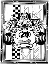 mickey and the roadster racers coloring pages getcoloringpages com
