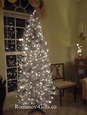 slim prelit tree ebay