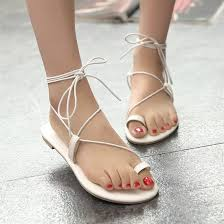 new 2017 shoes women sandals lace up gladiator sandals tie