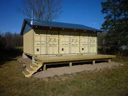 shipping container cabin interiors design