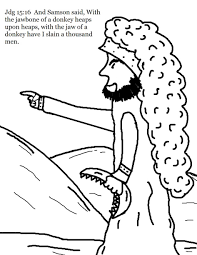 download coloring pages samson coloring page samson coloring